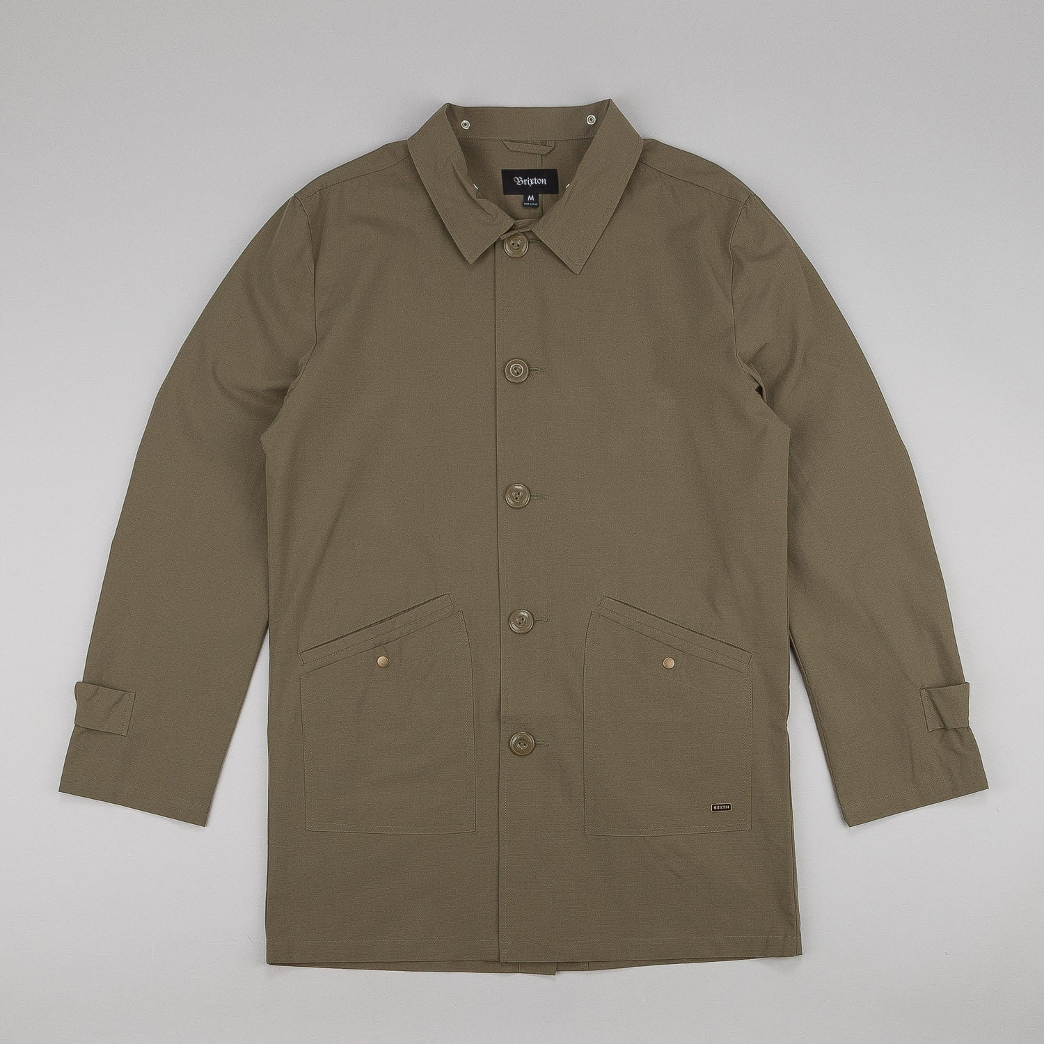 Brixton Fairdays Coat - Olive