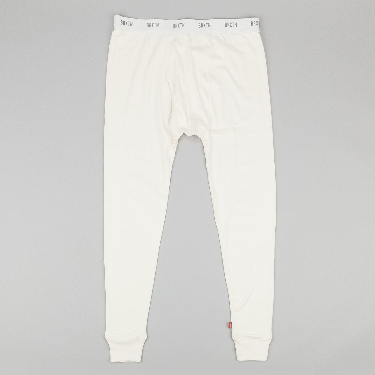 Brixton Fargo Premium Long Underwear Set - Off White