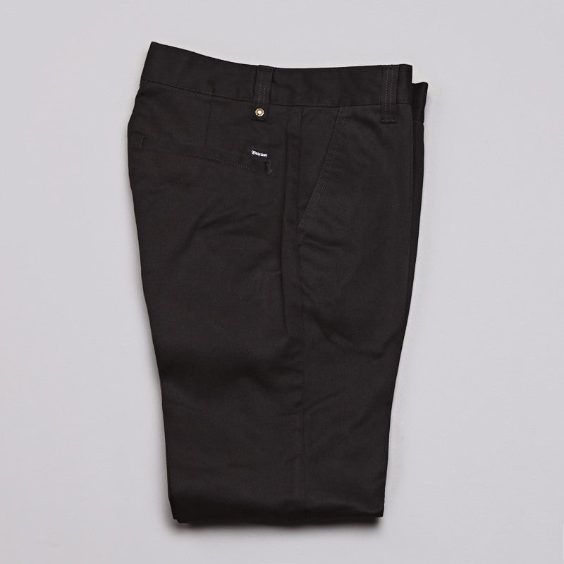 Brixton Fleet Pants Black