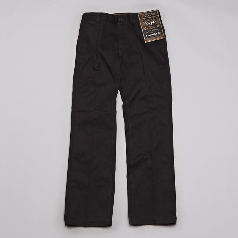 Brixton Fleet Trousers Black