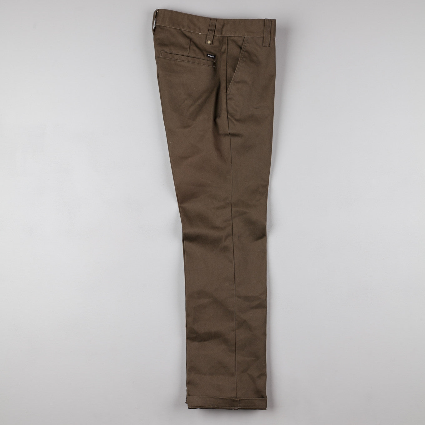 Brixton Fleet Rigid Chino Trousers - Brown