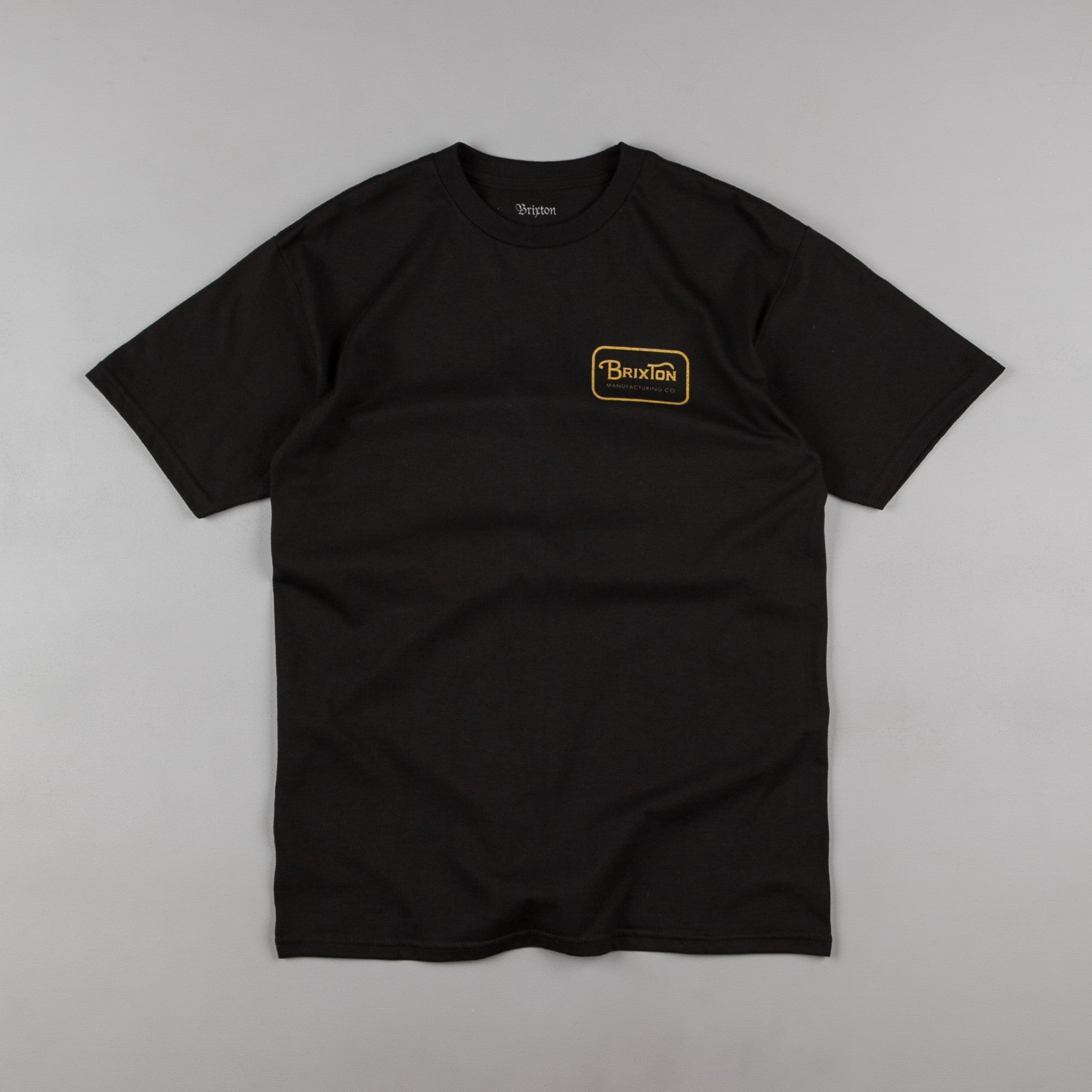 Brixton Grade T-Shirt - Black / Gold