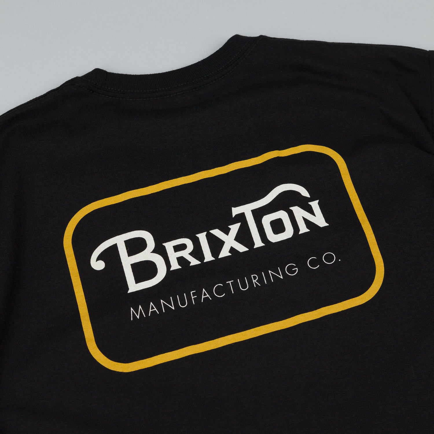 Brixton Grade T-Shirt - Black / Orange