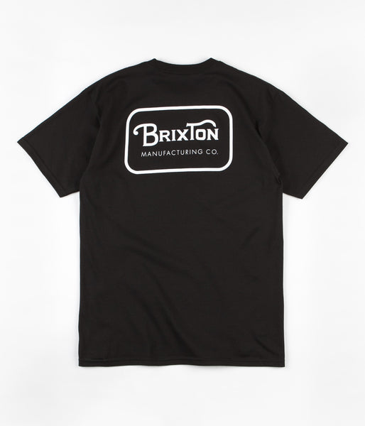Brixton Grade T-Shirt - Black / White