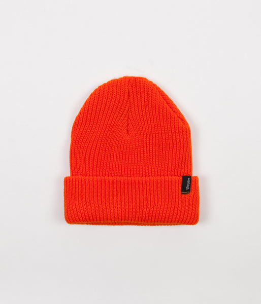 9b347d118 Brixton Heist Beanie - Athletic Orange
