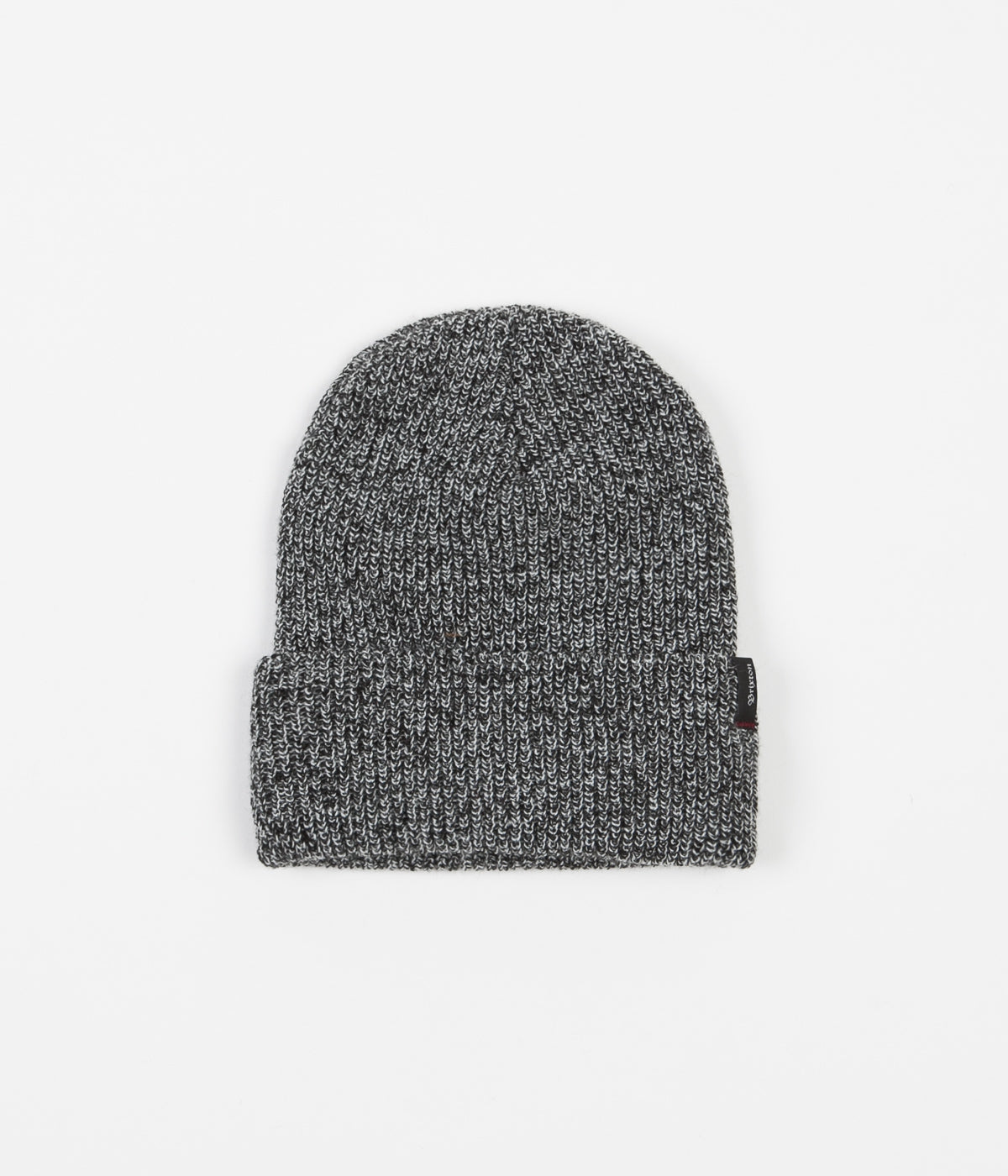 Brixton Heist Beanie - Black / Heather Grey