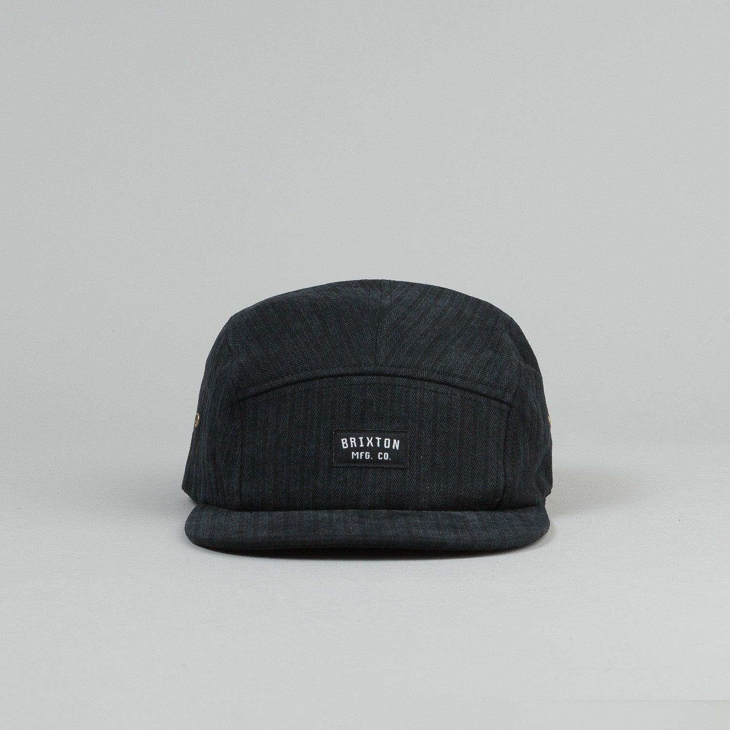 Brixton Hendrick 5 Panel Cap - Washed Black