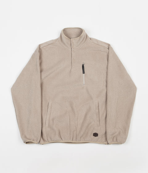 Brixton Higgins Fleece Sweatshirt - Oatmeal