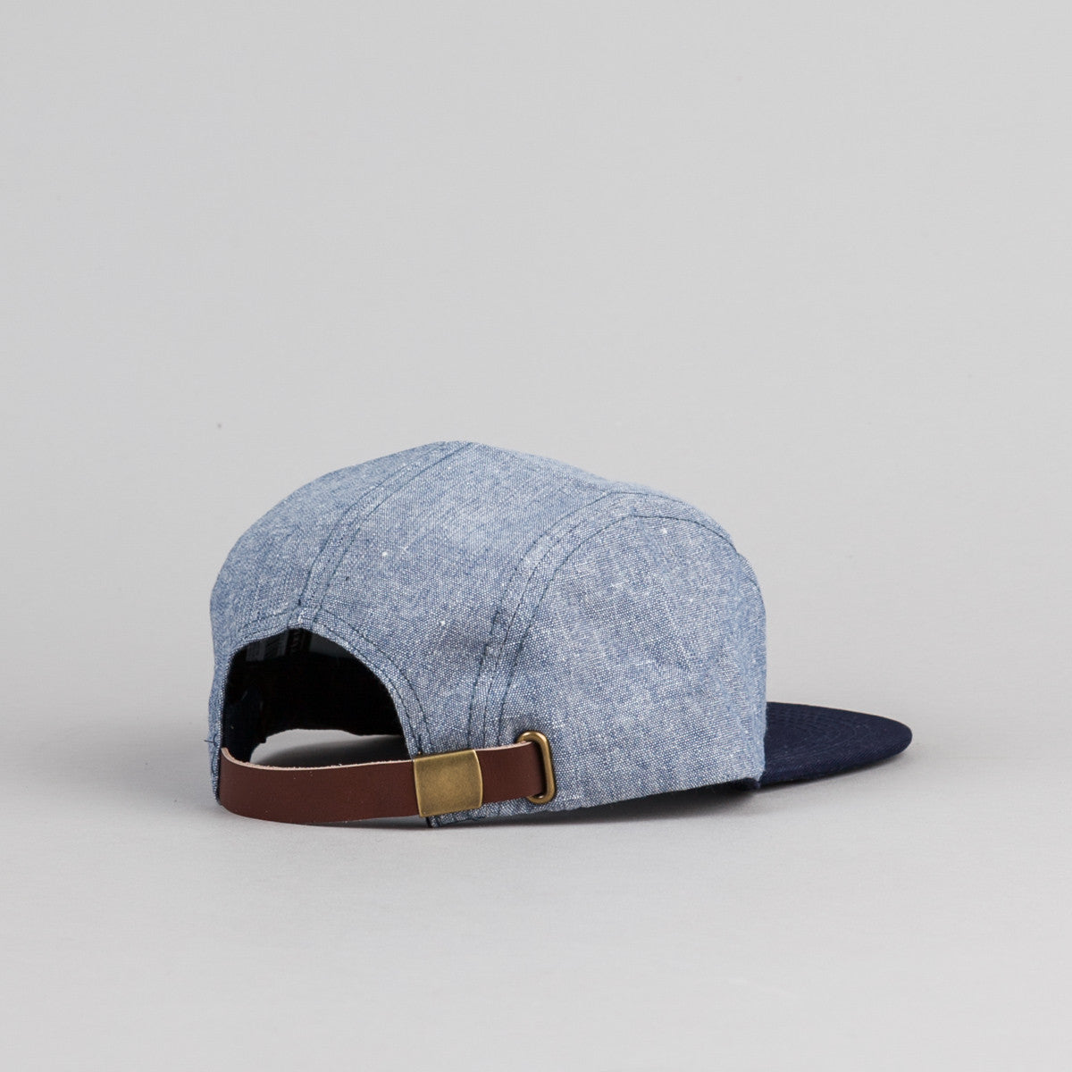 Brixton Hoover 5 Panel Cap - Light Blue / Navy
