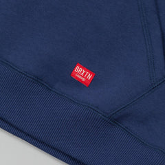 Brixton Hoover Crew Fleece Sweatshirt - Navy