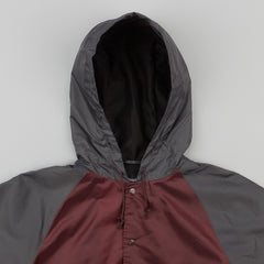 Brixton Hoover Jacket - Burgundy / Charcoal