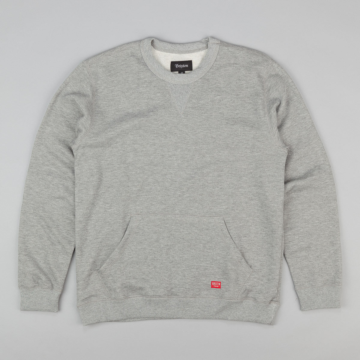 Brixton Hoover Sweatshirt - Heather Grey