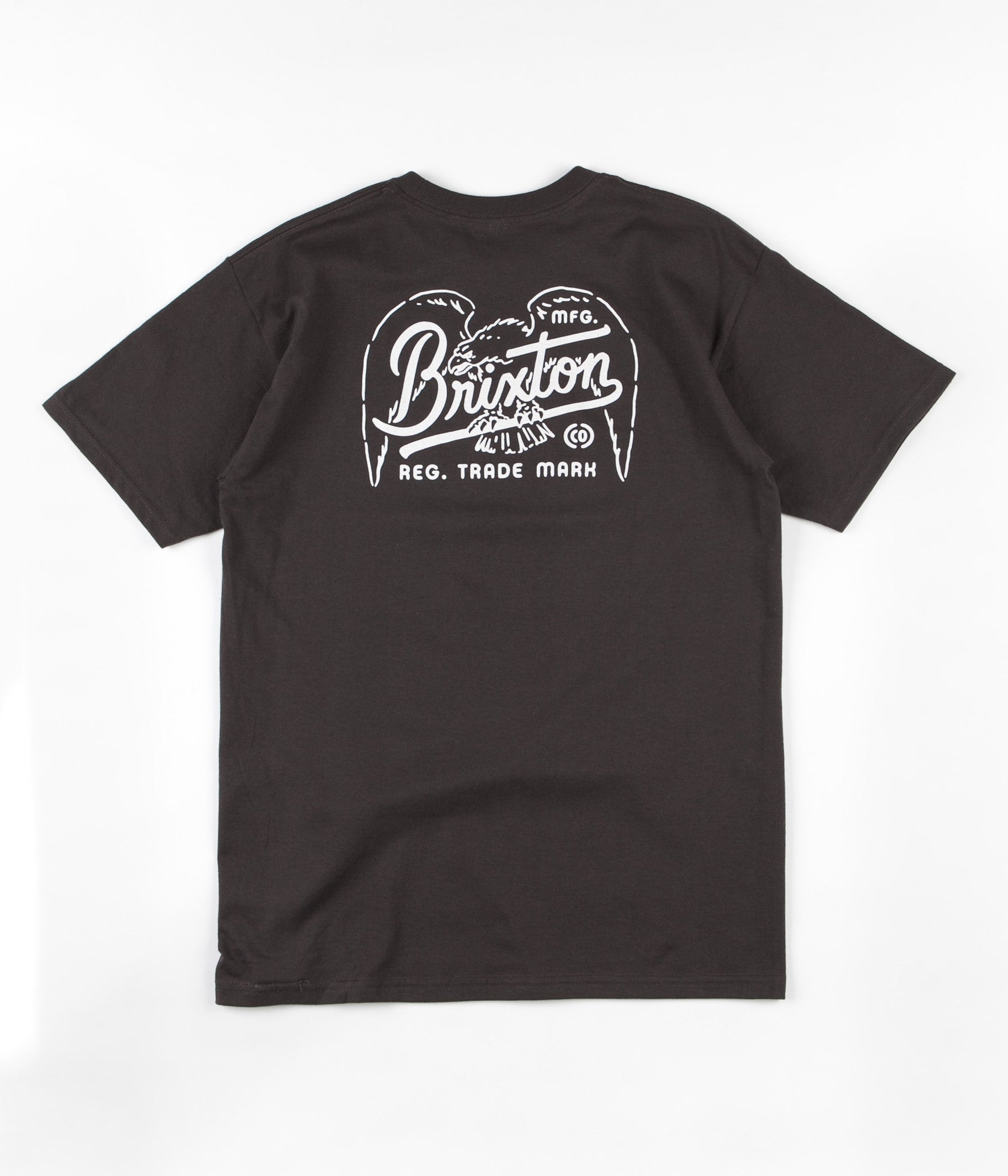 Brixton Kestrel T-Shirt - Washed Black