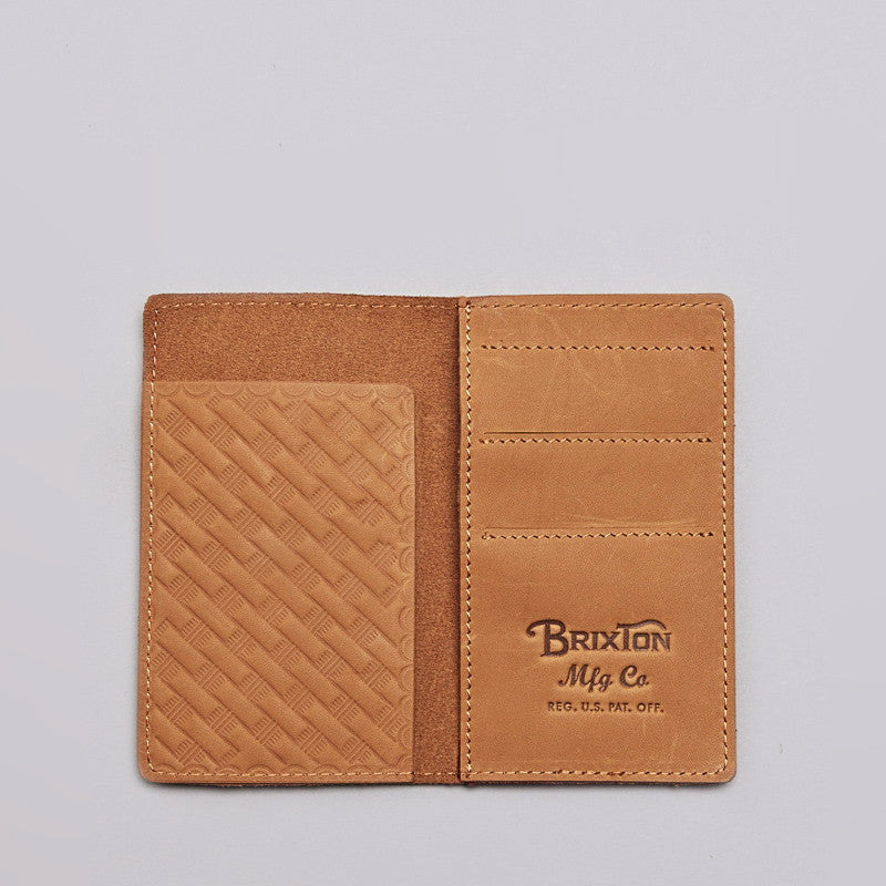 Brixton Landes Wallet Brown