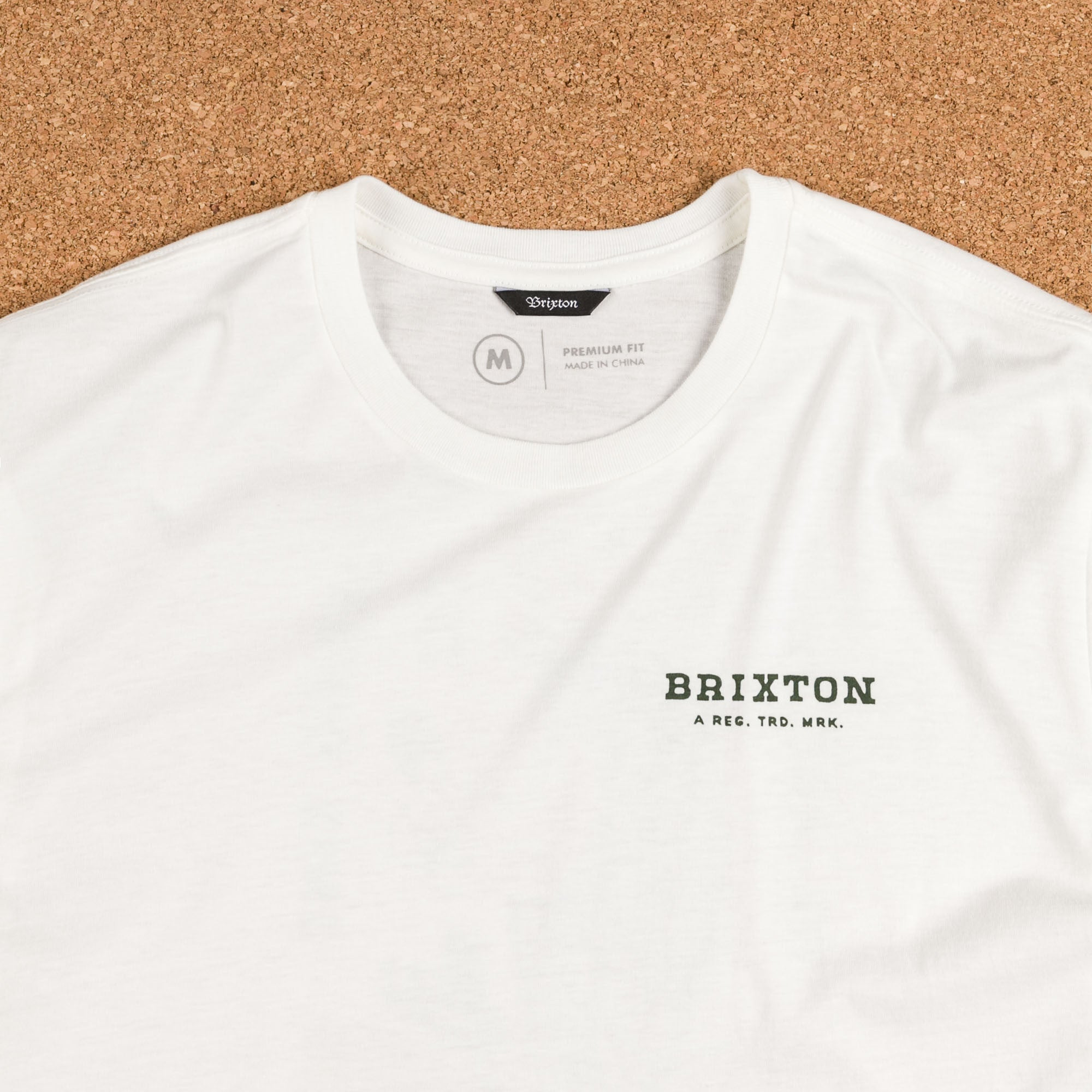 Brixton Lonesome Premium T-Shirt - Off White