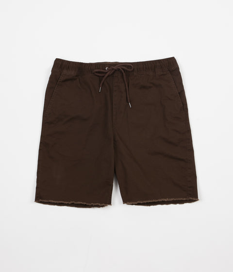 Brixton Madrid Relaxed Fit Shorts - Brown