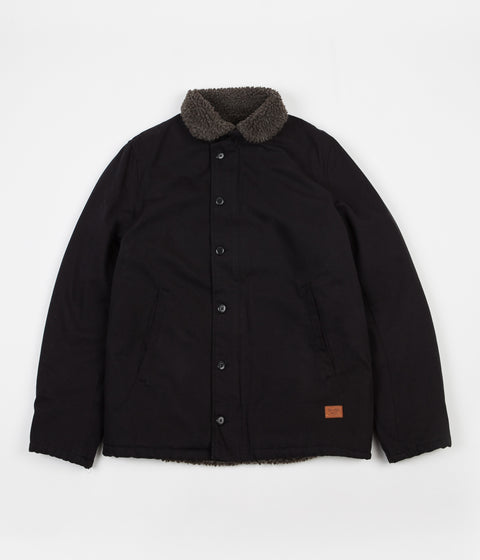 Brixton Mast Jacket - Black / Brown