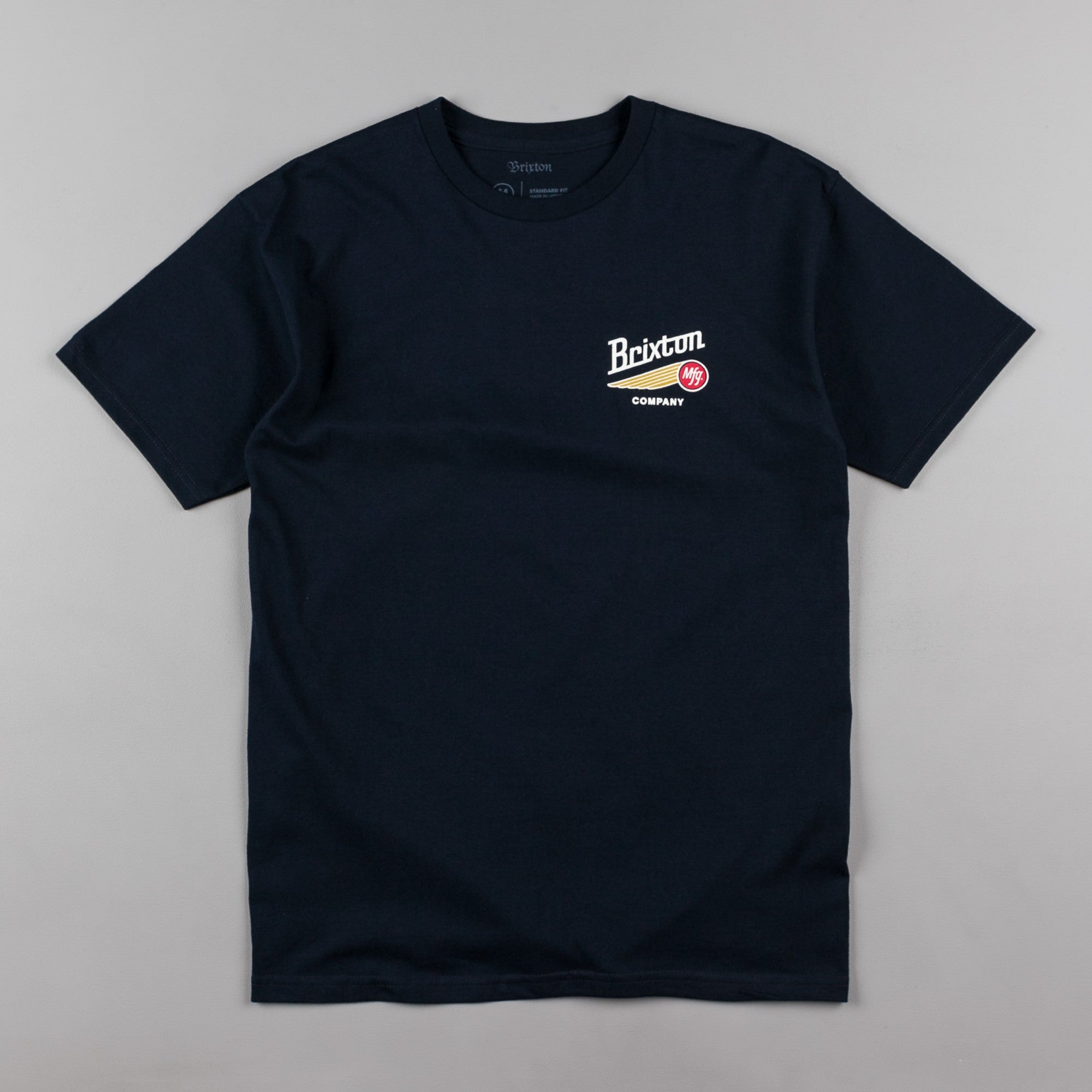 Brixton Maverick T-Shirt - Navy
