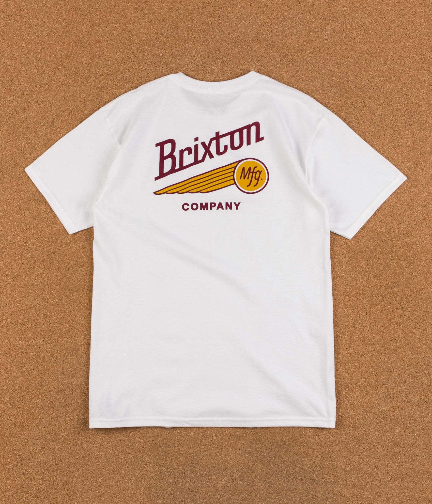 Brixton Maverick T-Shirt - White