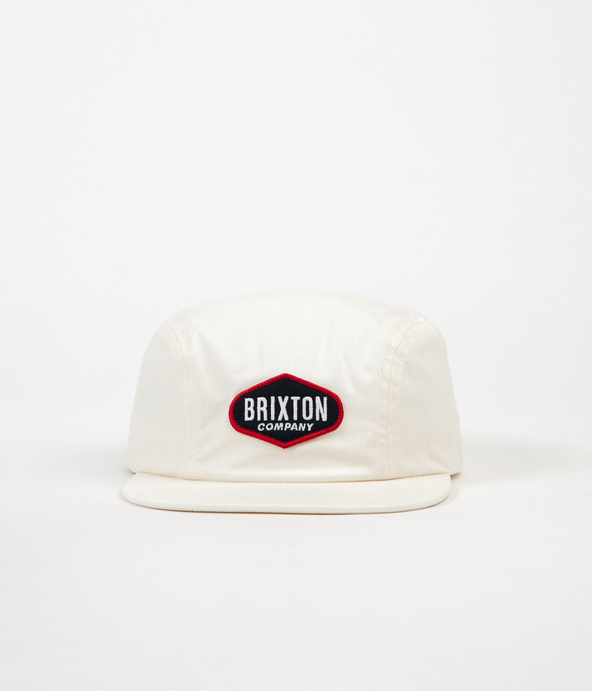 Brixton Oakland 2 Panel Cap - Off White