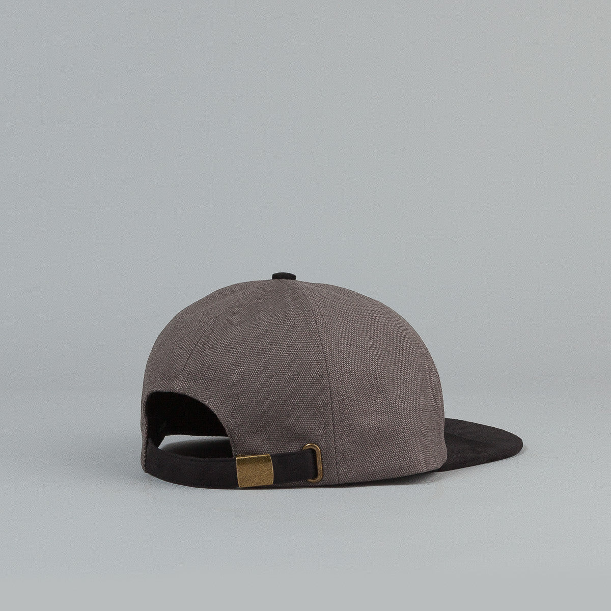 Brixton Oath 7 Panel Adjustable Cap - Black / Charcoal
