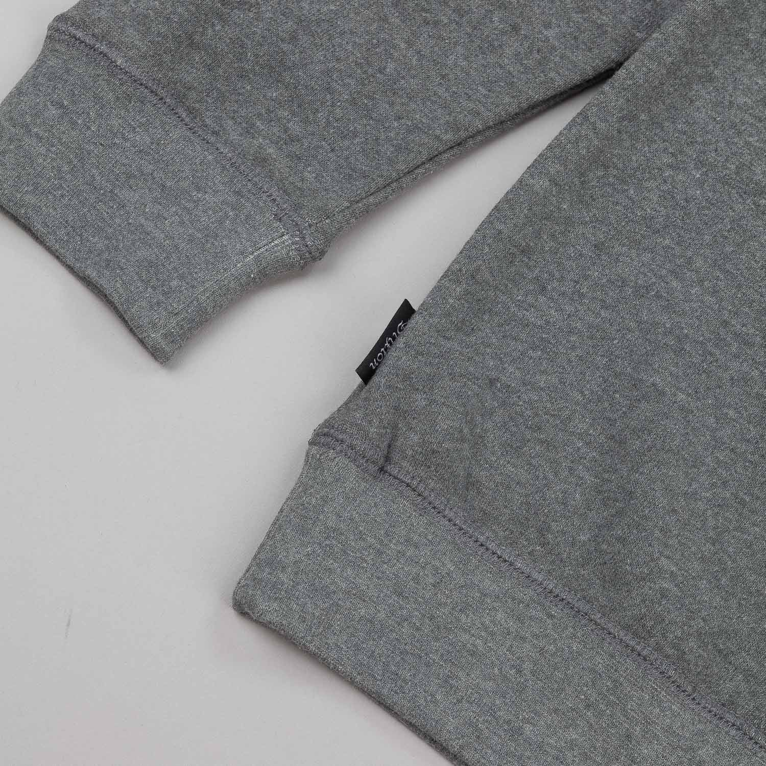 Brixton Oath Crew Neck Fleece - Heather Grey