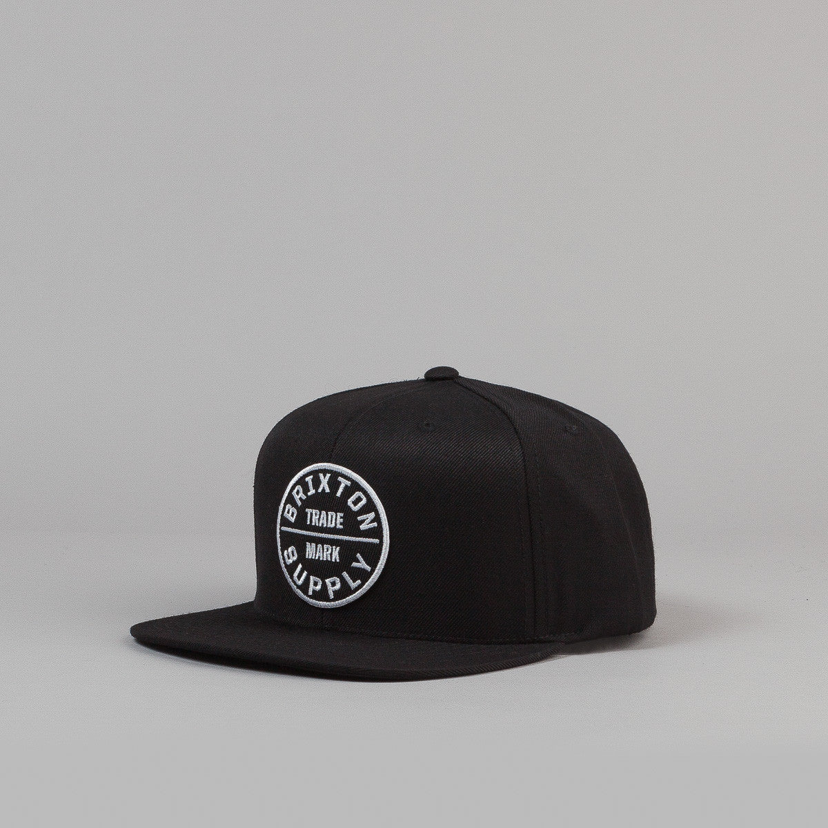 Brixton Oath III 6 Panel Snap Back Cap