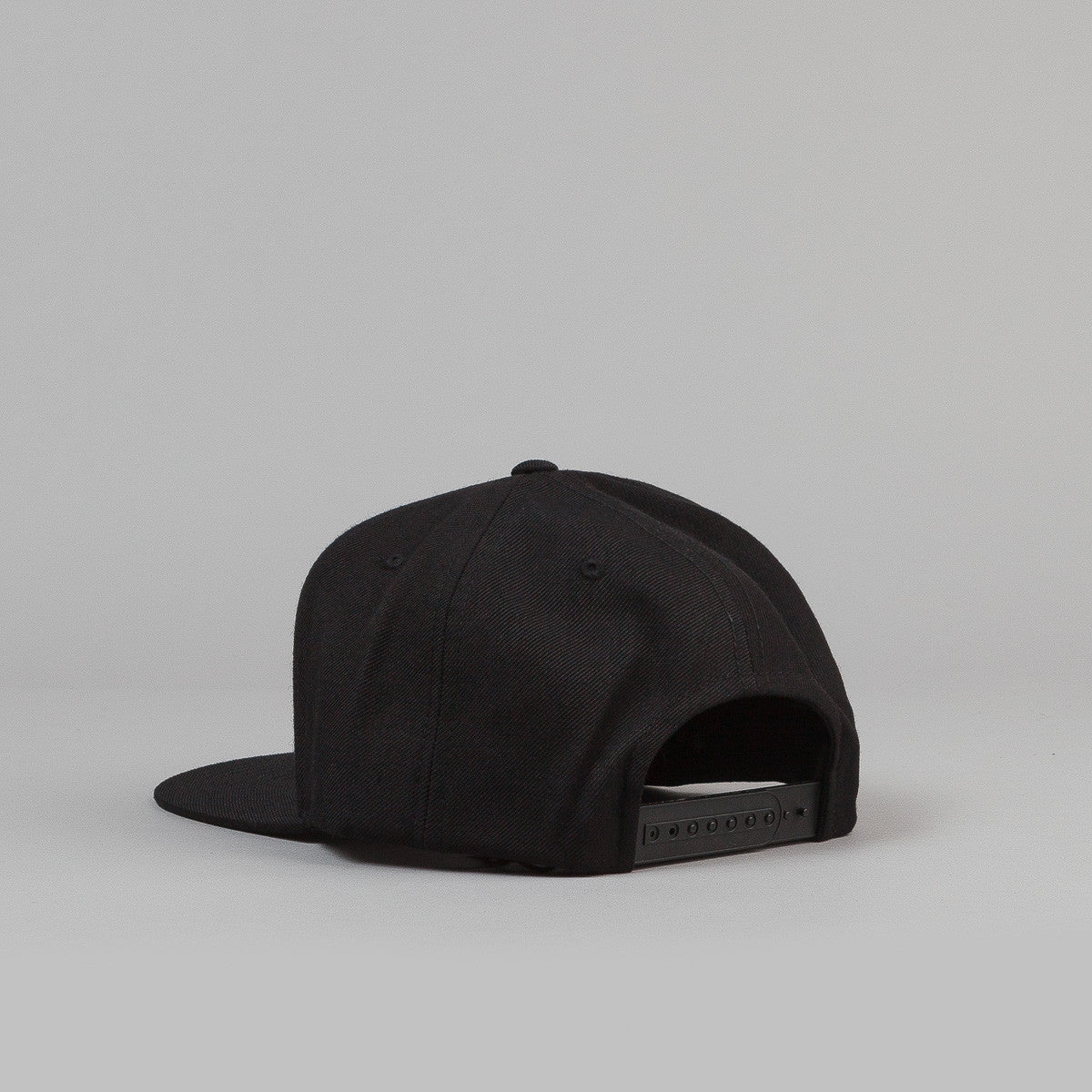 Brixton Oath III 6 Panel Snap Back Cap - Black