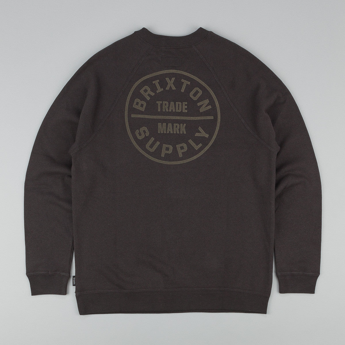 Brixton Oath Sweatshirt - Washed Black