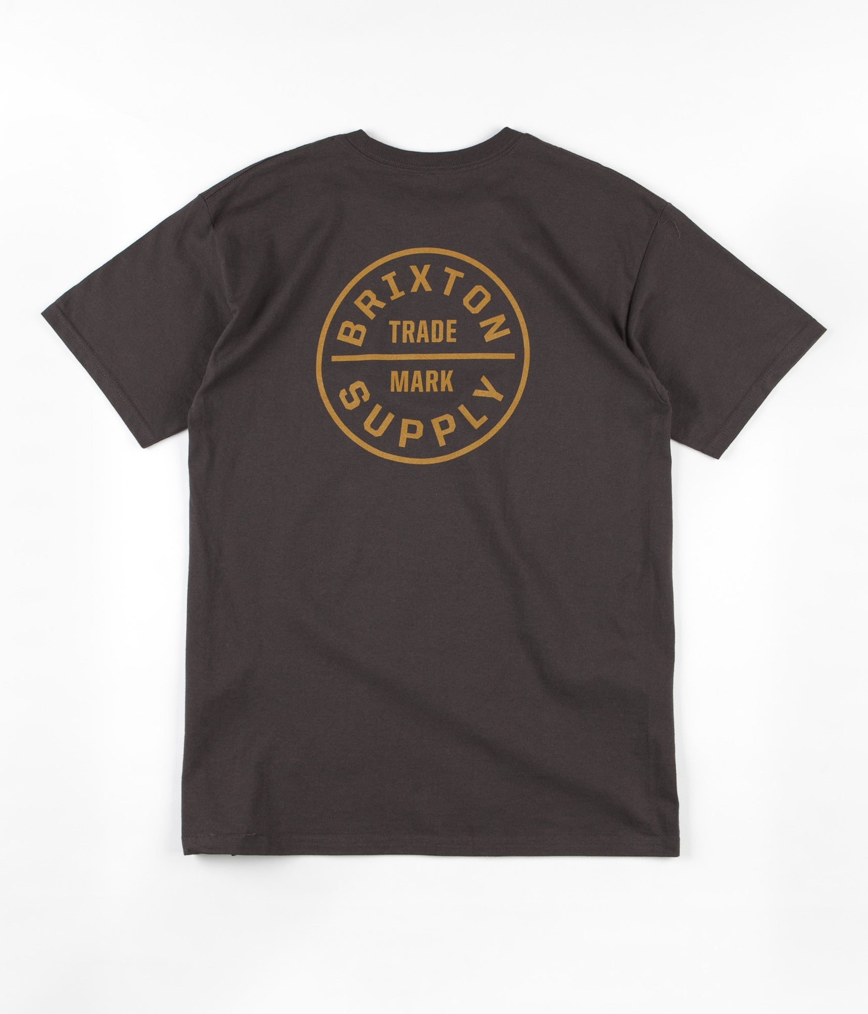 Brixton Oath T-Shirt - Washed Black