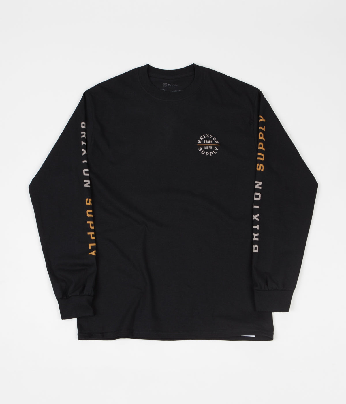 Brixton Oath VI Long Sleeve T-Shirt - Black