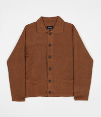 Brixton Powell Cardigan - Copper