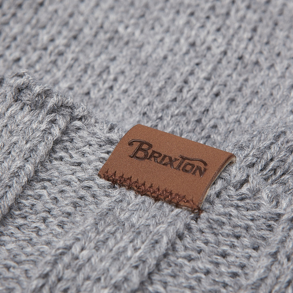 Brixton Price Beanie Light Heather Grey