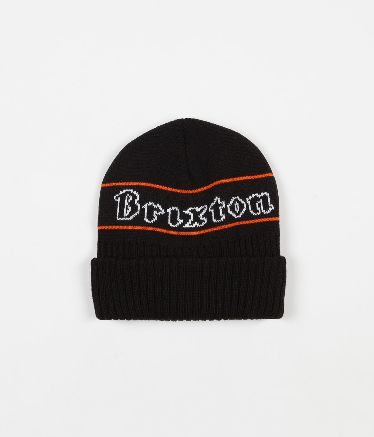 Brixton Proxy Beanie - Black / Orange