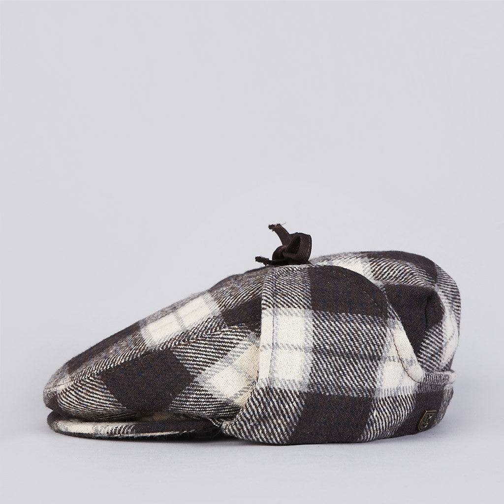 Brixton Rambler Hat Brown / Cream Plaid