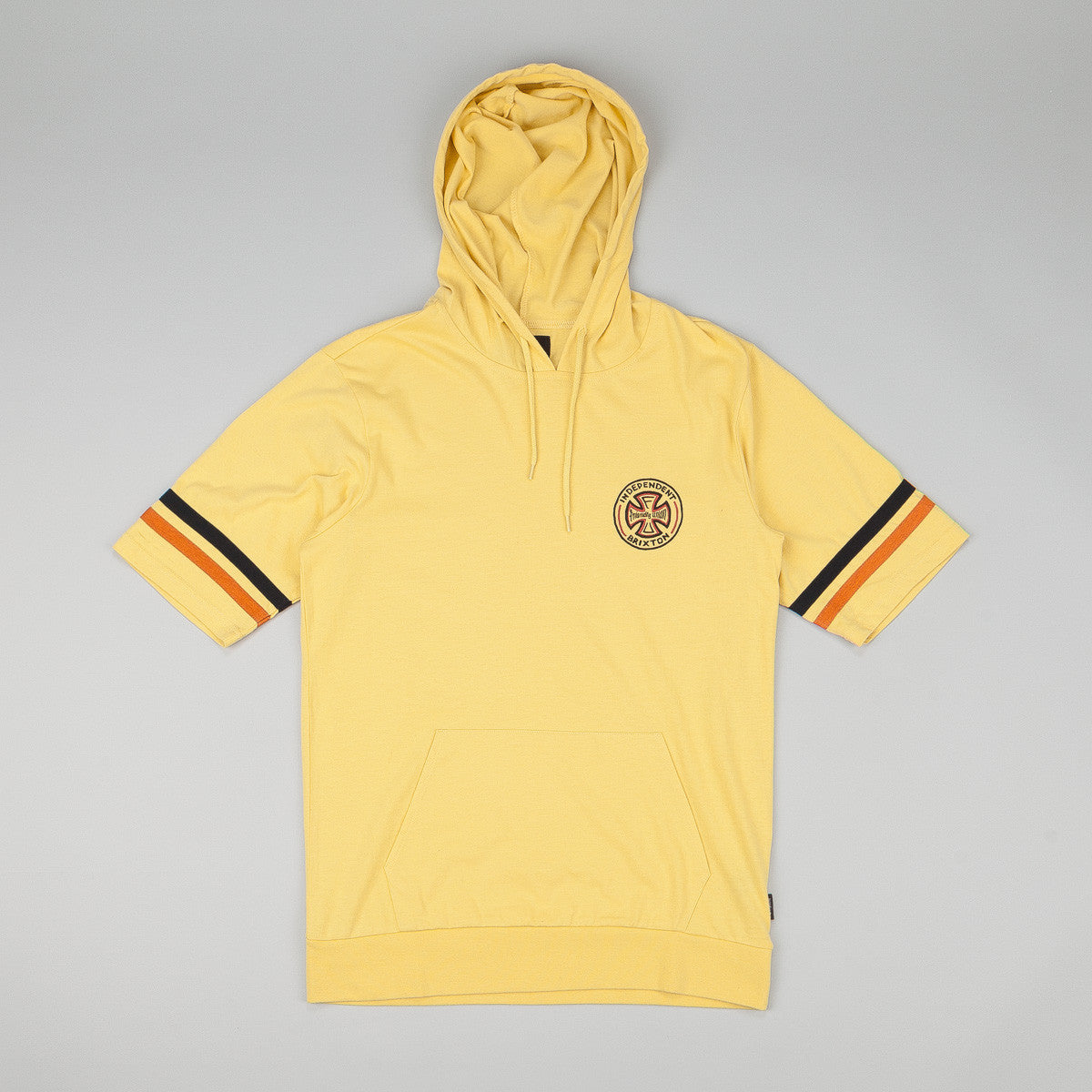 Brixton Raymond Short Sleeve Hooded Knit