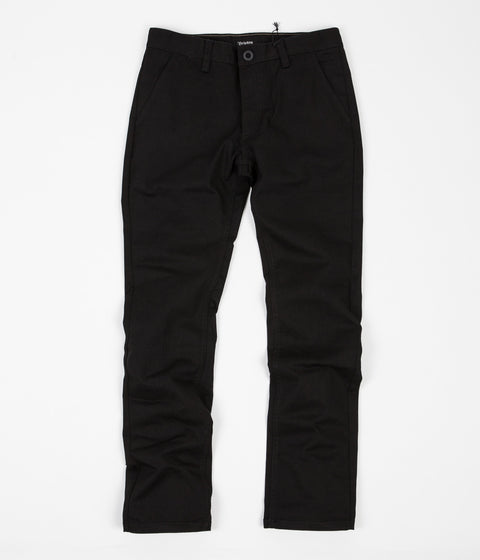 Brixton Reserve Chino Trousers - Black