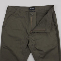 Brixton Reserve Service Trousers - Olive