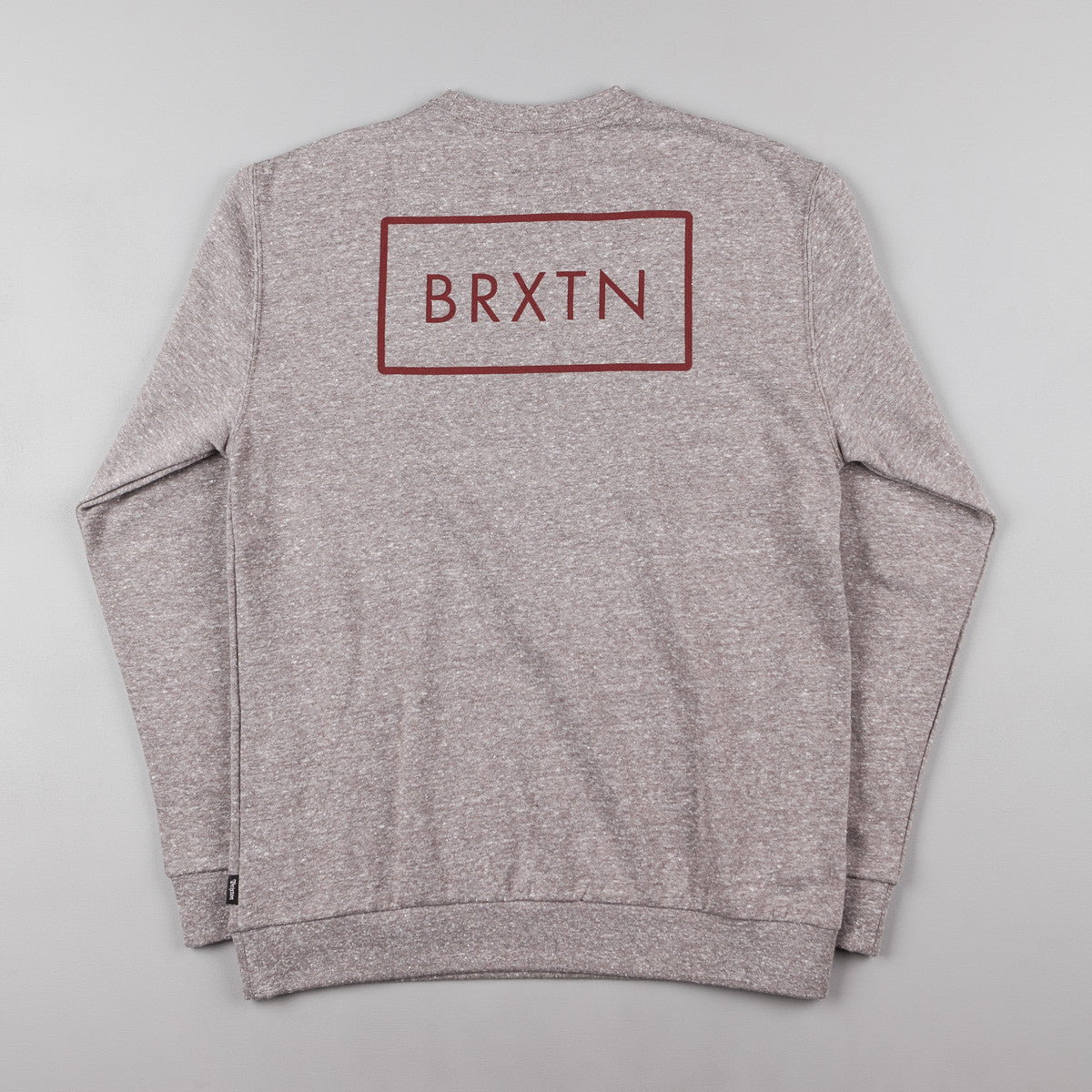 Brixton Rift Crewneck Sweatshirt - Heather Grey