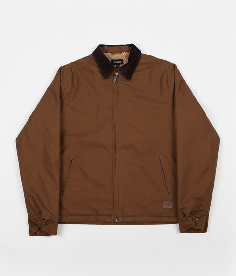 Brixton Salvador Jacket - Bark