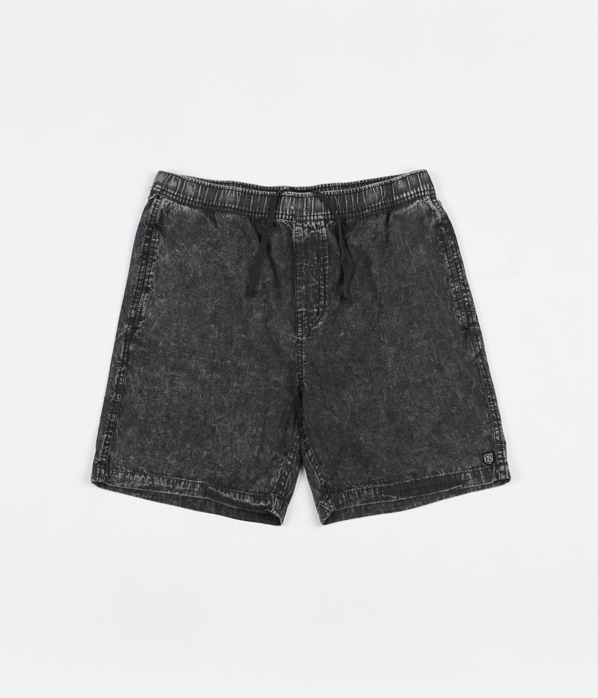 Brixton Steady Short - Black Acid Wash