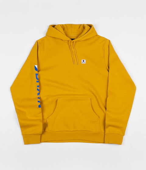 Brixton Stowell Intl Hoodie - Nugget Gold