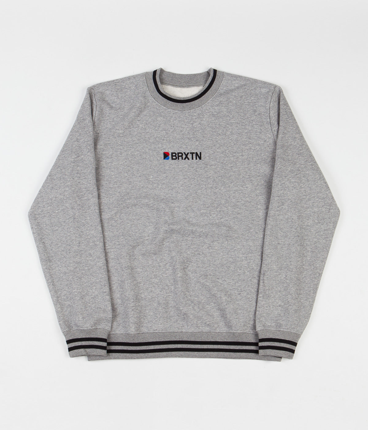 Brixton Stowell IV International Crewneck Sweatshirt - Heather Grey
