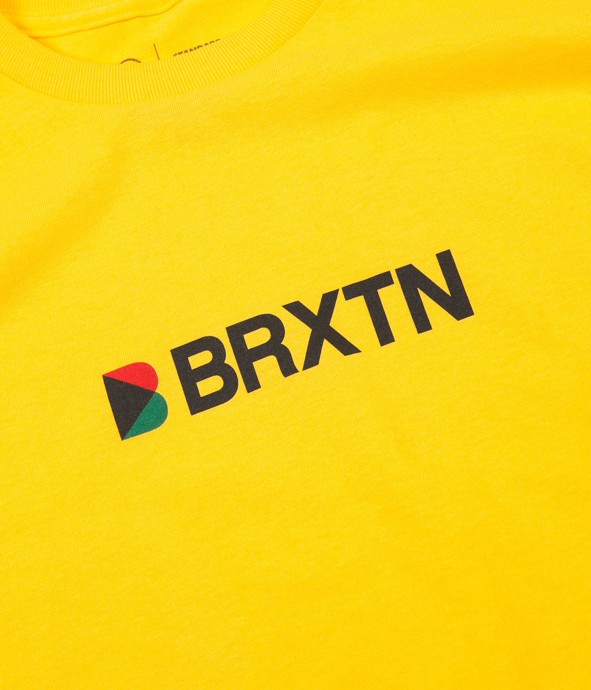 Brixton Stowell IV T-Shirt - Yellow