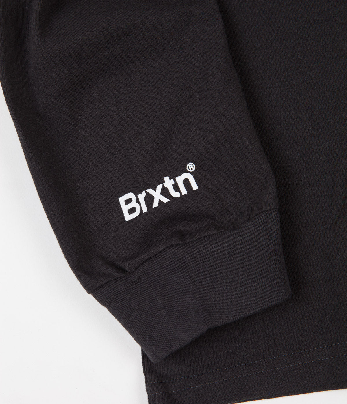 Brixton Stowell VIII Long Sleeve T-Shirt - Washed Black