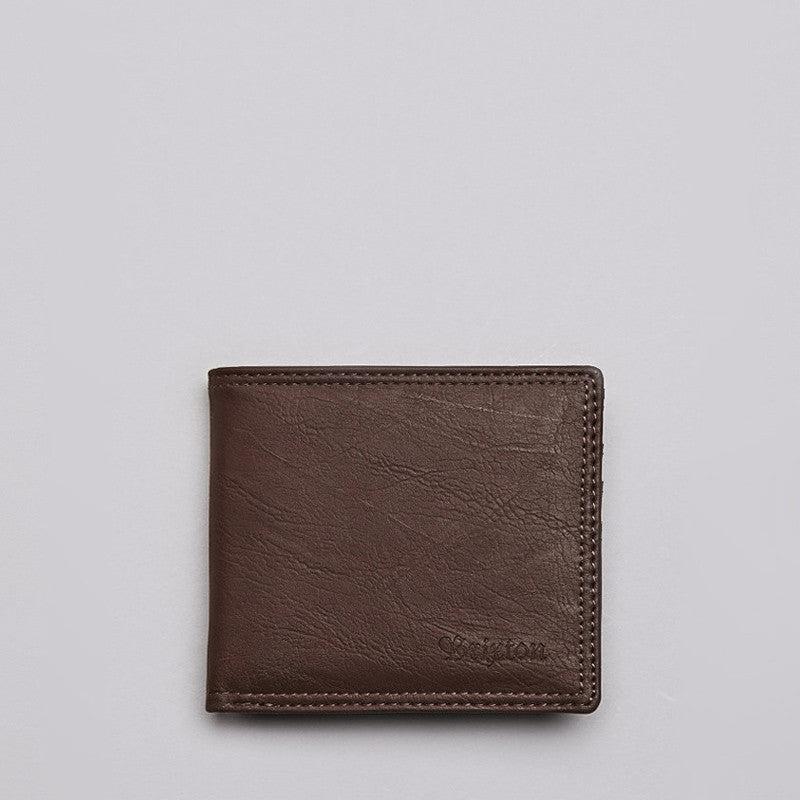 Brixton Strum Wallet Brown