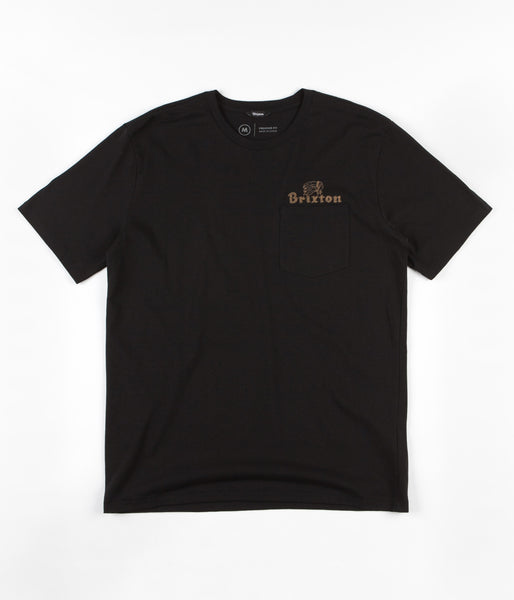 Brixton Tanka II Pocket T-Shirt - Black