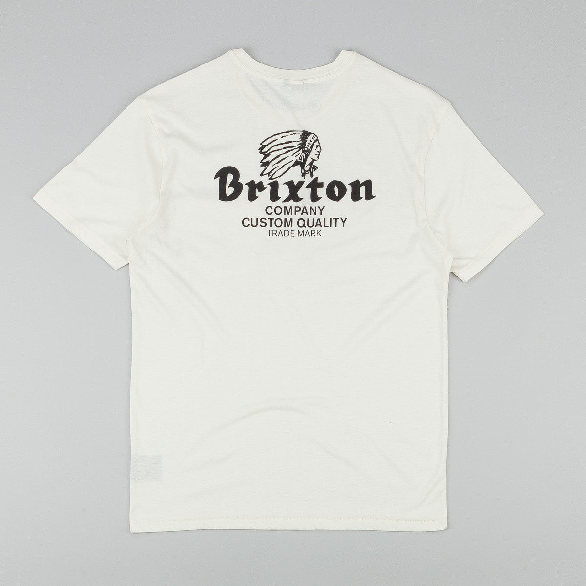 Brixton Tanka Pocket T-Shirt - Cream