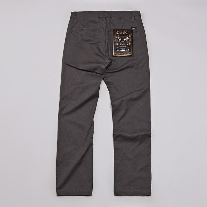 Brixton Toil 2 Trousers Charcoal