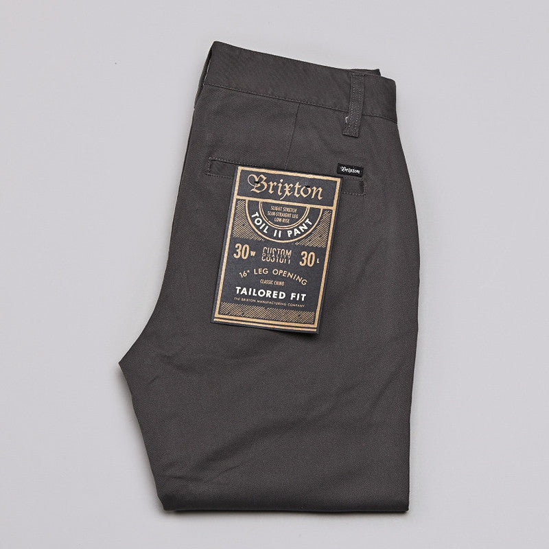 Brixton Toil 2 Pants Charcoal